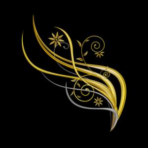Contoh bingkai dan cip art undangan